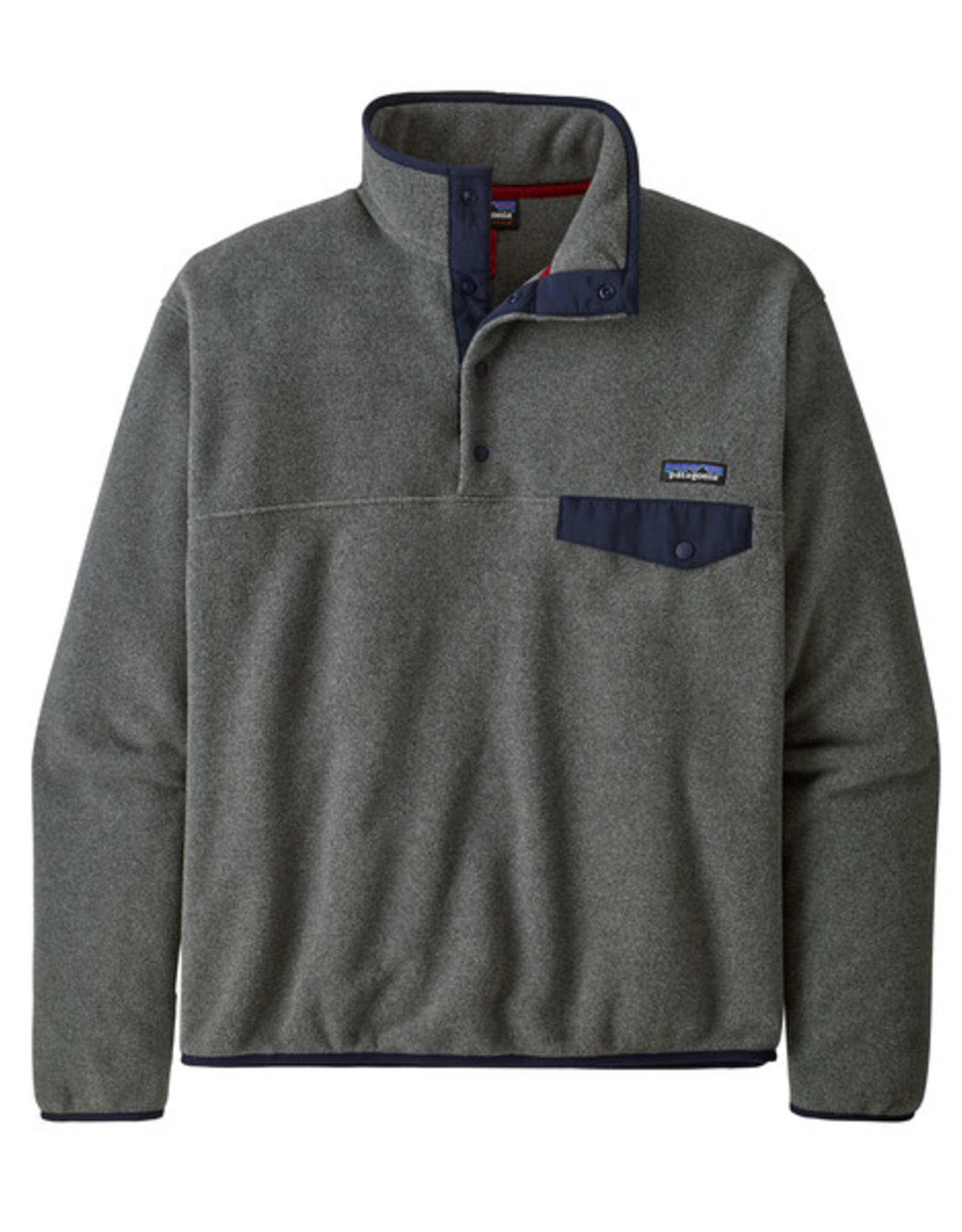 Patagonia - M's LW Synch Snap-T -  Nickel / Navy Blue