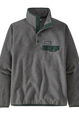 Patagonia - W's  LW Synch Snap-T - Nickel / Northern Green