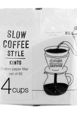 Kinto - Slow Coffee Style - Cotton Paper Filter - 4 Cup