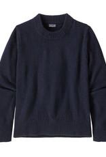 Patagonia - Pull en laine recyclée marine pour femme