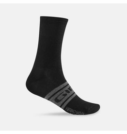 Giro Cycling Giro Cycling Seasonal Merino Wool Socks - Black/Charcoal (Size L)