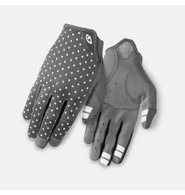 Giro Cycling Giro Cycling La DND Mountain Gloves M - Dark Shadow/White Dots (Womens Size M)