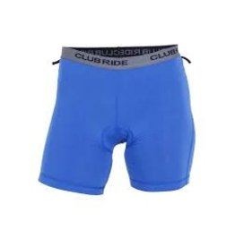 CLUB RIDE Club Ride Drift Women's 2 Hour Boy Brief Chamois Blue SM