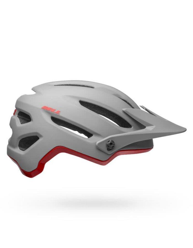 BELL Bell 4Forty MIPS Adult Bike Helmet - Cliffhanger Matte/Gloss Gray/Crimson - L (58-62 cm)