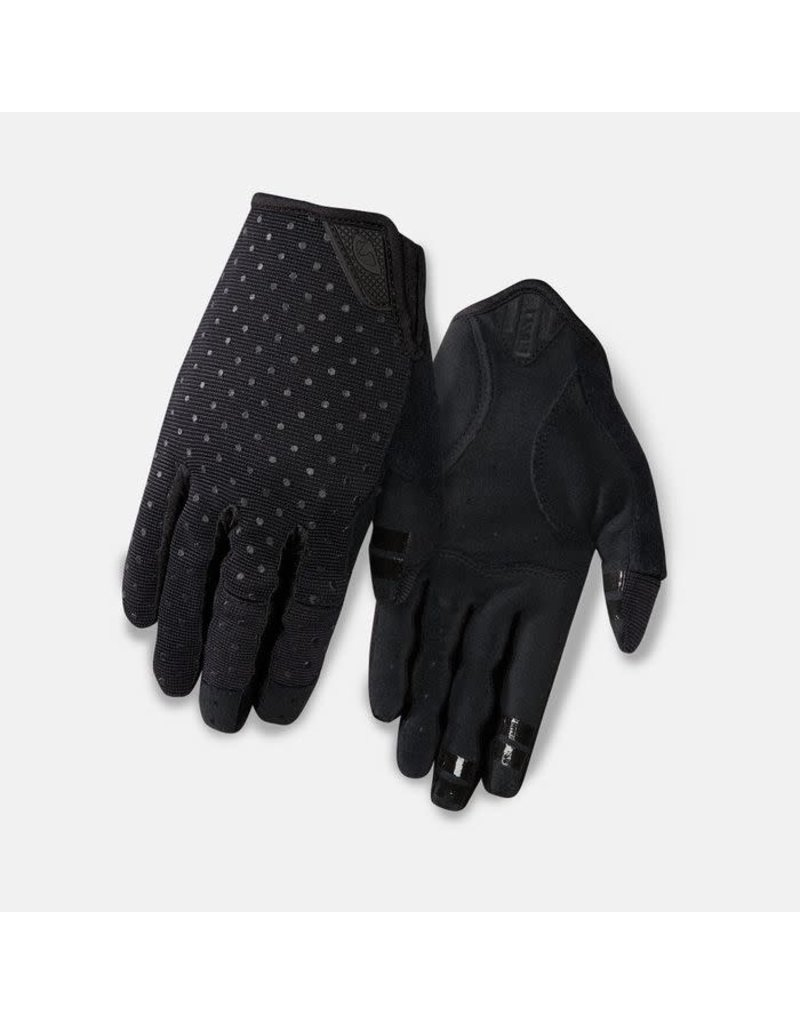 Giro Cycling LA DND Womens Dirt Gloves - Black Dots - L