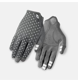 Giro Cycling LA DND Womens Dirt Gloves - Dark Shadow/White Dots - S