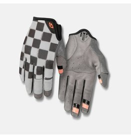 Giro Cycling LA DND Womens Dirt Gloves - Checkered/Peach - XL