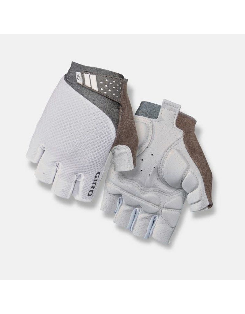 Giro Cycling Monica II Gel Womens Road Gloves - White - L