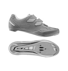 Giant GNT Bolt Road Shoe Nylon SPD/SPD SL Sole 45 Black/Silver