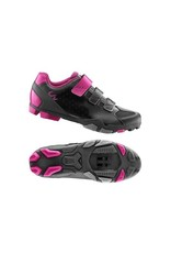LIV LIV Fera Off-Road Shoe Nylon Sole 41 Black/Fuchsia