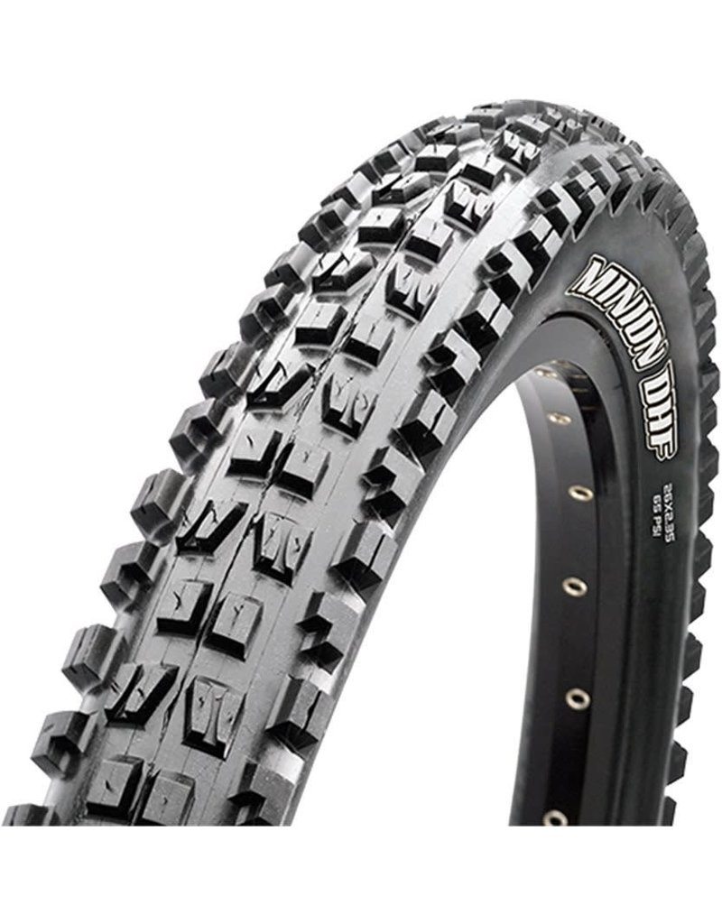 MAXXIS Maxxis Minion DHF Tire 24 x 2.40, Folding, 120tpi, 3C MaxxTerra, EXO, Tubeless Ready, Black