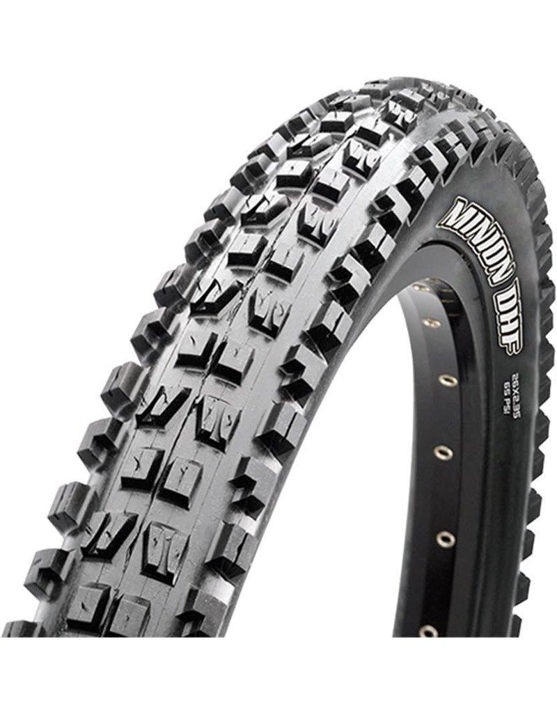 MAXXIS MAX Minion DHF Tire 29x2.50 TR EXO DC WT FB Black