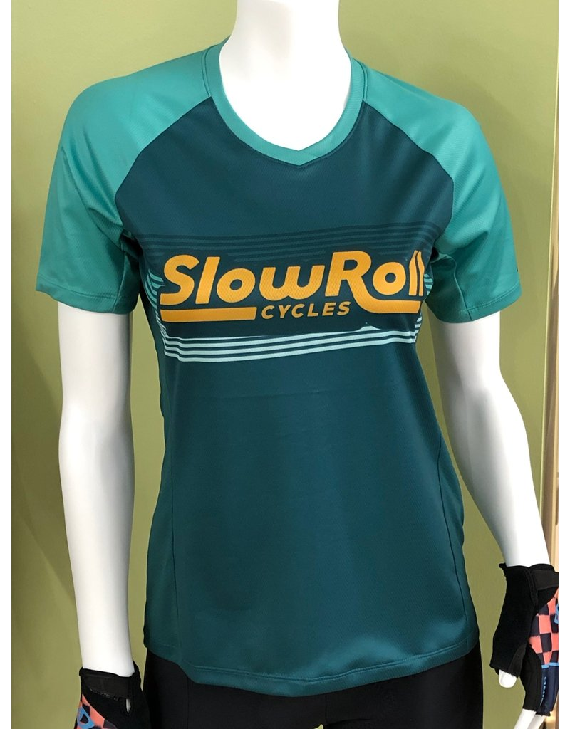 Giro Cycling Slow Roll Mountain Short Sleeve Jersey Womens Size L