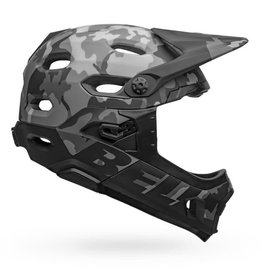 Bell Super DH MIPS Adult Bike Helmet - Matte/Gloss black Camo - M (55-59 cm)
