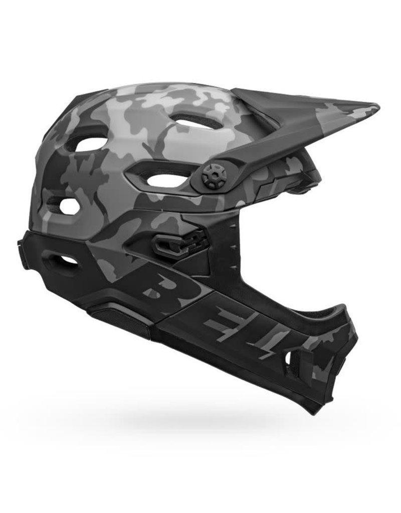 Bell Super DH MIPS Adult Bike Helmet - Matte/Gloss black Camo - M (55-59 cm)