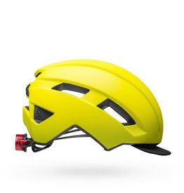 Bell Daily MIPS LED Helmet - Matte Hi-Viz - UA (54-61 cm)