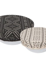 Now Designs Couvre-bols ronds (2) en tissus
