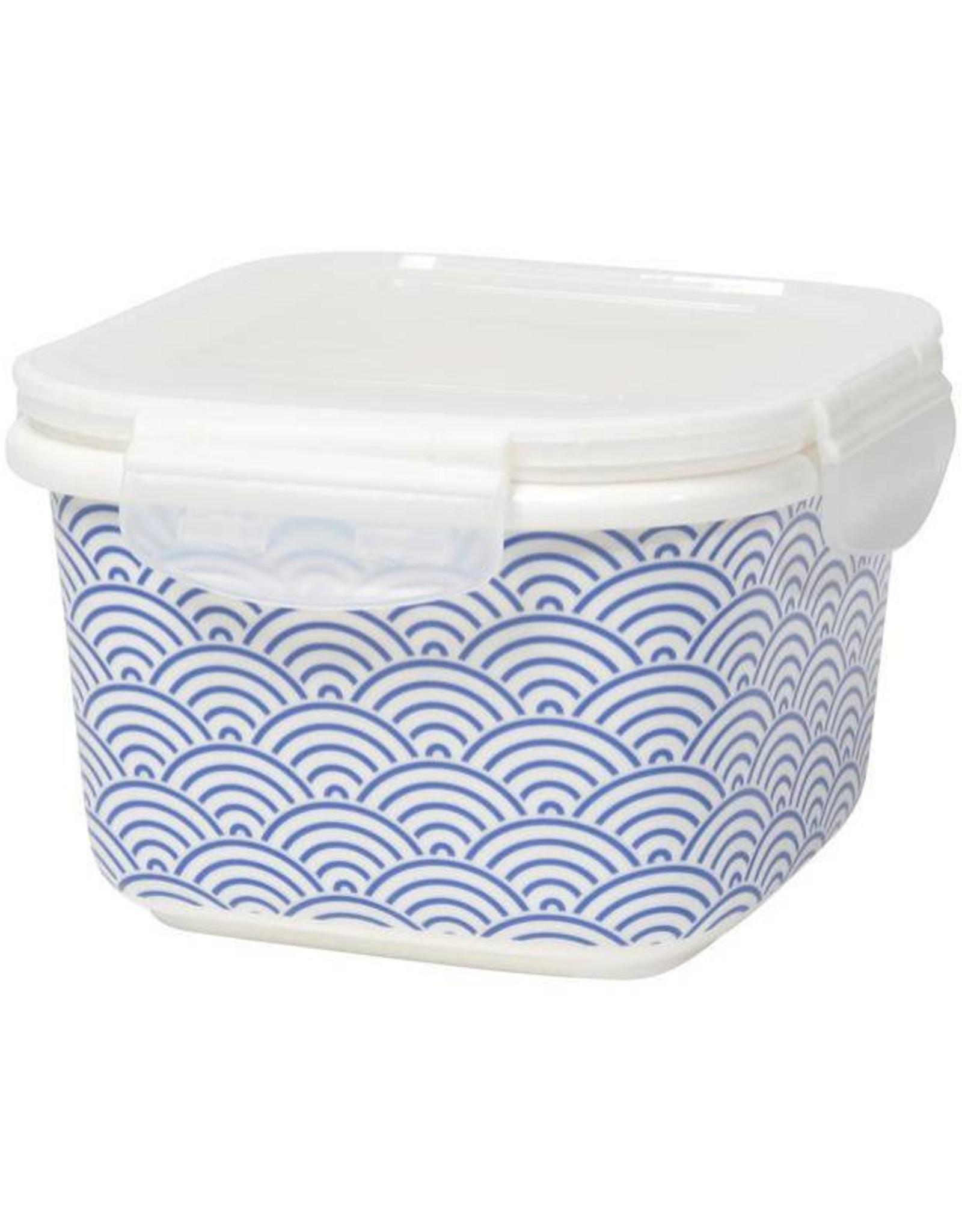 Now Designs Contenant hermétique 'Snack n Serve' 6'' bleu vague