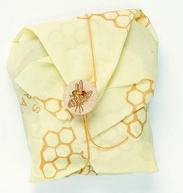 Emballage à la cire d'abeille pour sandwich