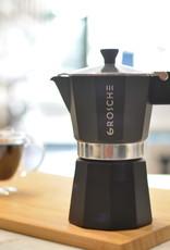 Grosche Cafetière espresso 'Milano' charcoal