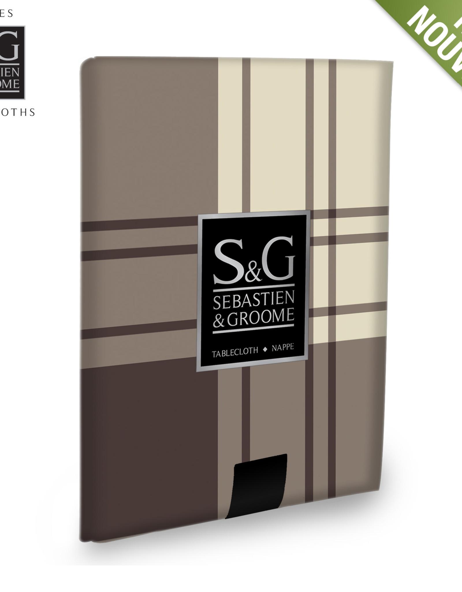 S&G Nappe S&G 'Java Plaid' angora