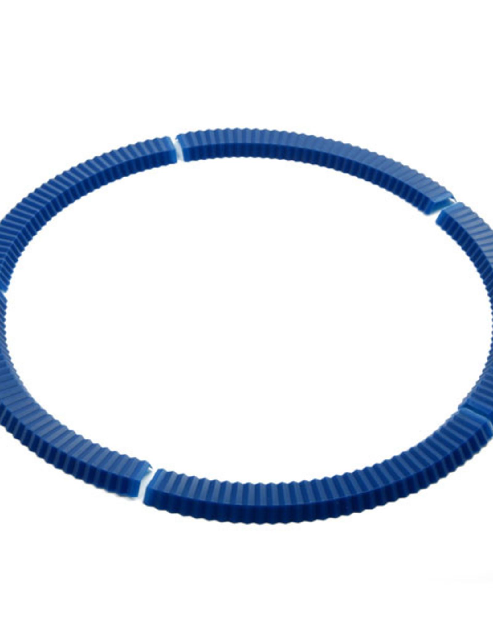 Norpro Ens. de 5 Protecteurs  à tarte en silicone bleu