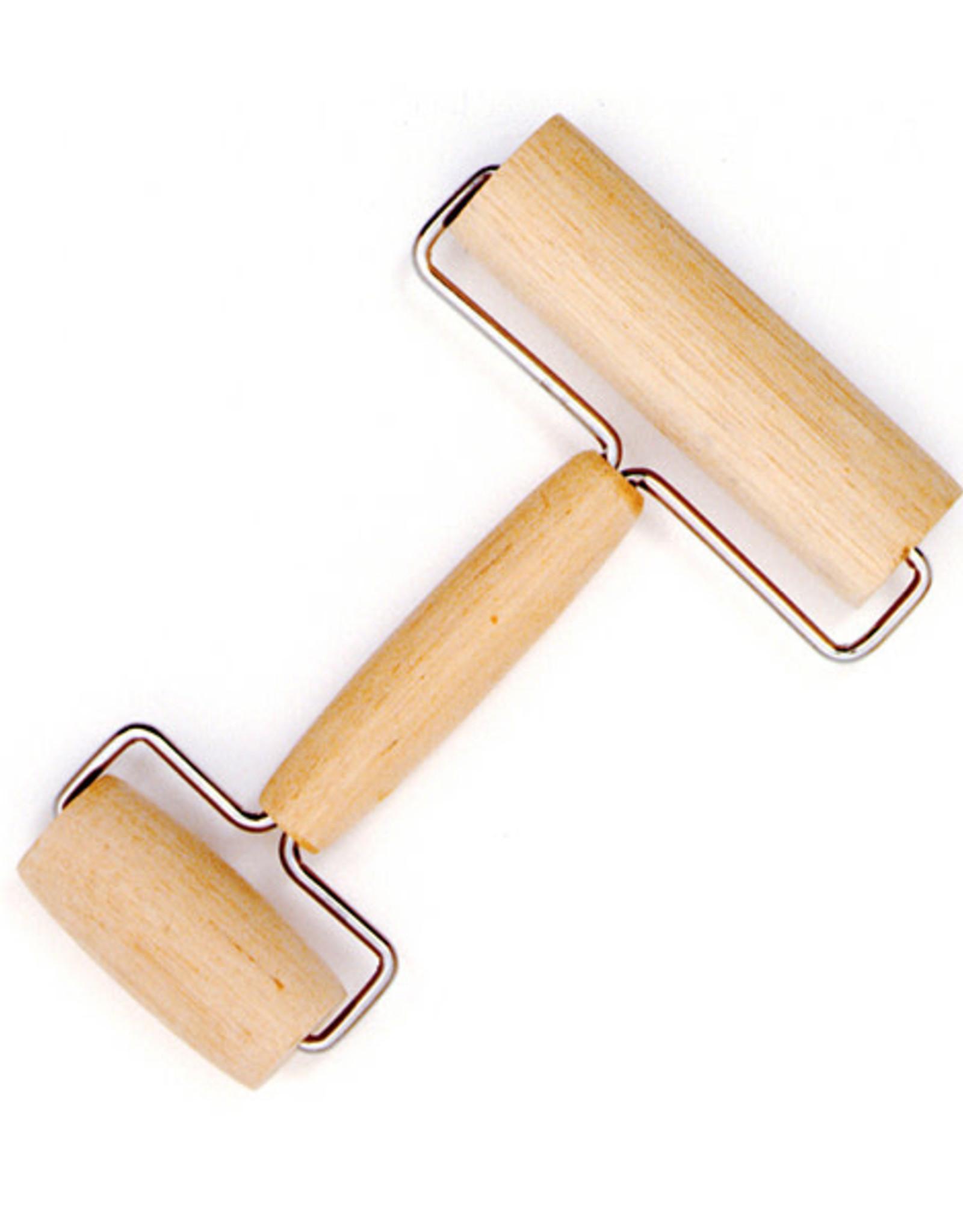 Norpro Rouleau à pâte double en bois