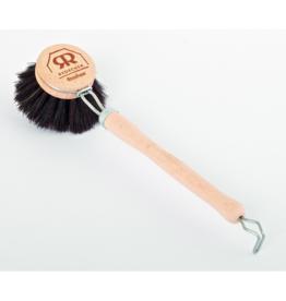 Brosse à vaisselle Redecker poils noirs