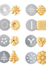 La Pâtisserie Ens. presse à biscuits a/douilles pour décorer