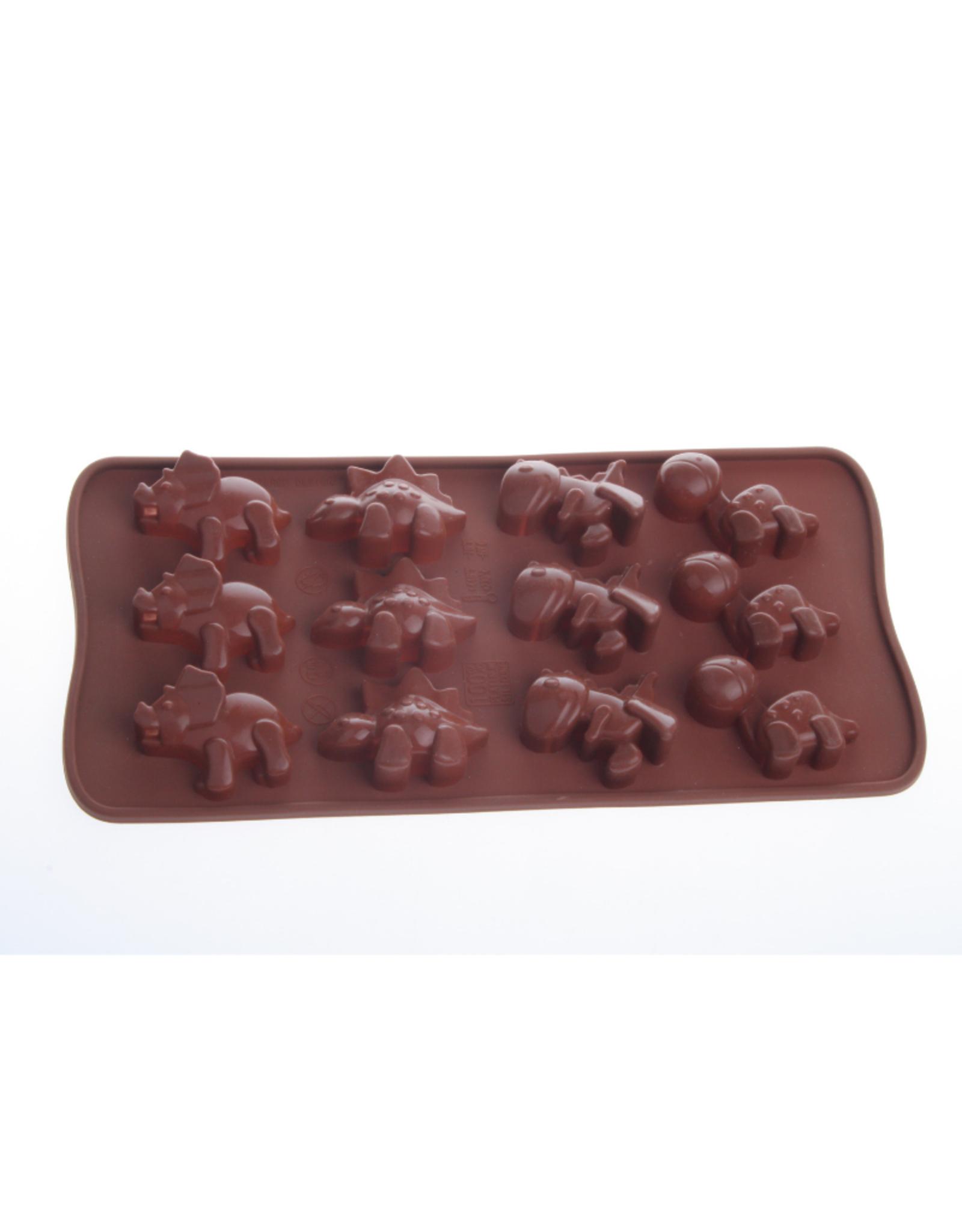 La Pâtisserie Moule à chocolat en silicone -Dinosaure