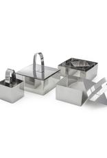 Danesco Emporte-pièces et poussoirs carrés, ens. de 9 mrcx