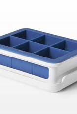OXO Moule en silicone pour cubes de glace avec couvercle