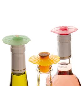 Charles Viancin Bouchon à bouteille de vin  en silicone floral