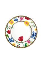 Maxwell Williams Assiette blanche 19 cm à motifs Contessa
