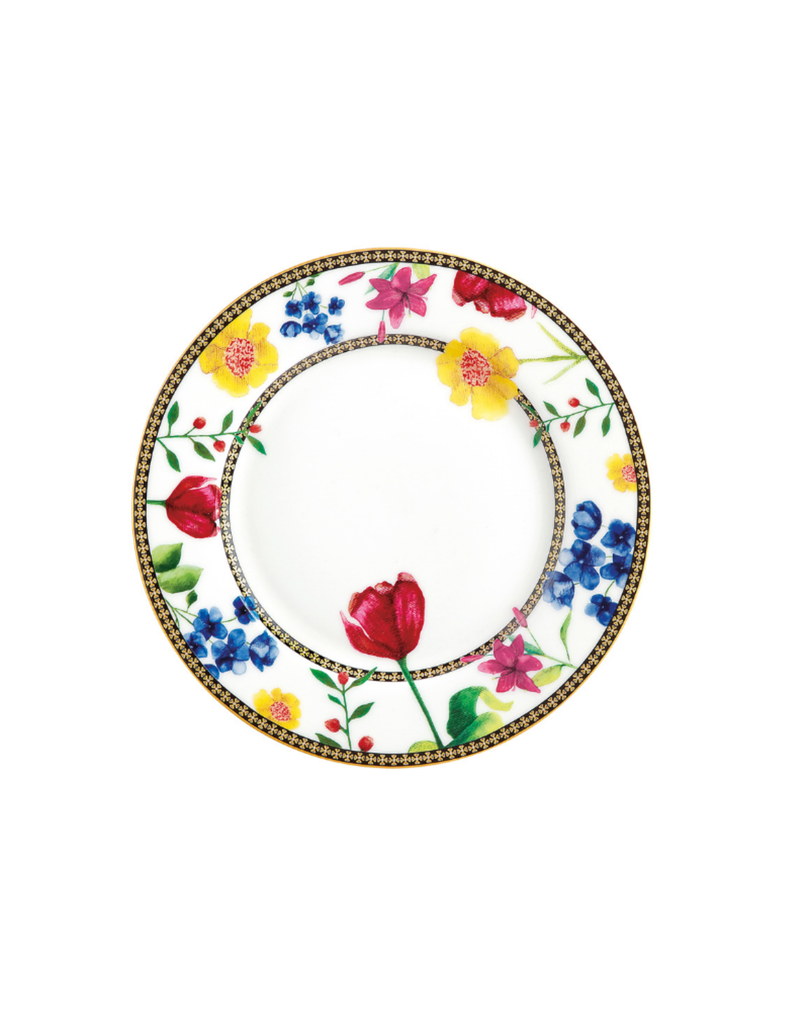 Maxwell Williams Assiette blanche 19 cm à motifs Contessa