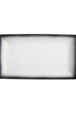 Maxwell Williams Assiette rectangle 34 cm Granite