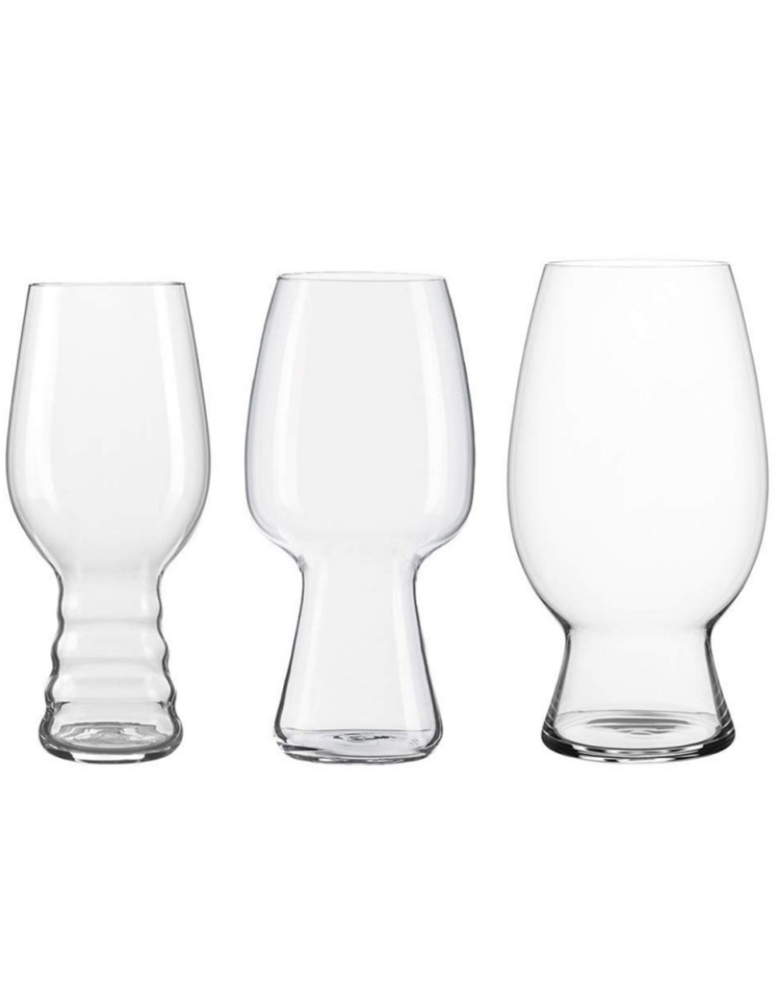 Spiegelau Ens. 3 verres dégustation de bière 'Craft'