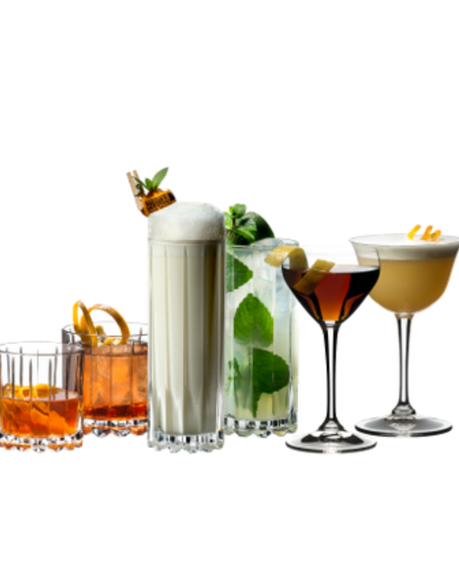 Riedel Ens. 2 verres à Whiskey sur glace