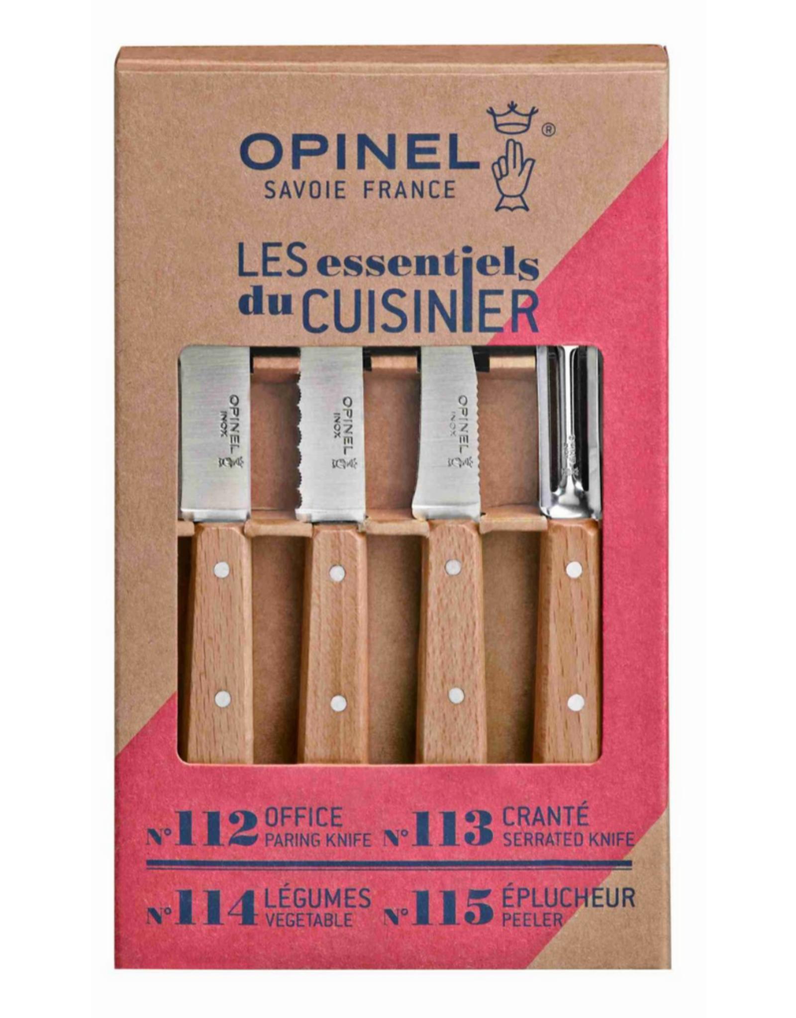 Opinel Coffret Les Essentiels - bois naturel