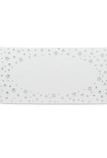 Abbott Paquet de marque-places étoiles argentées