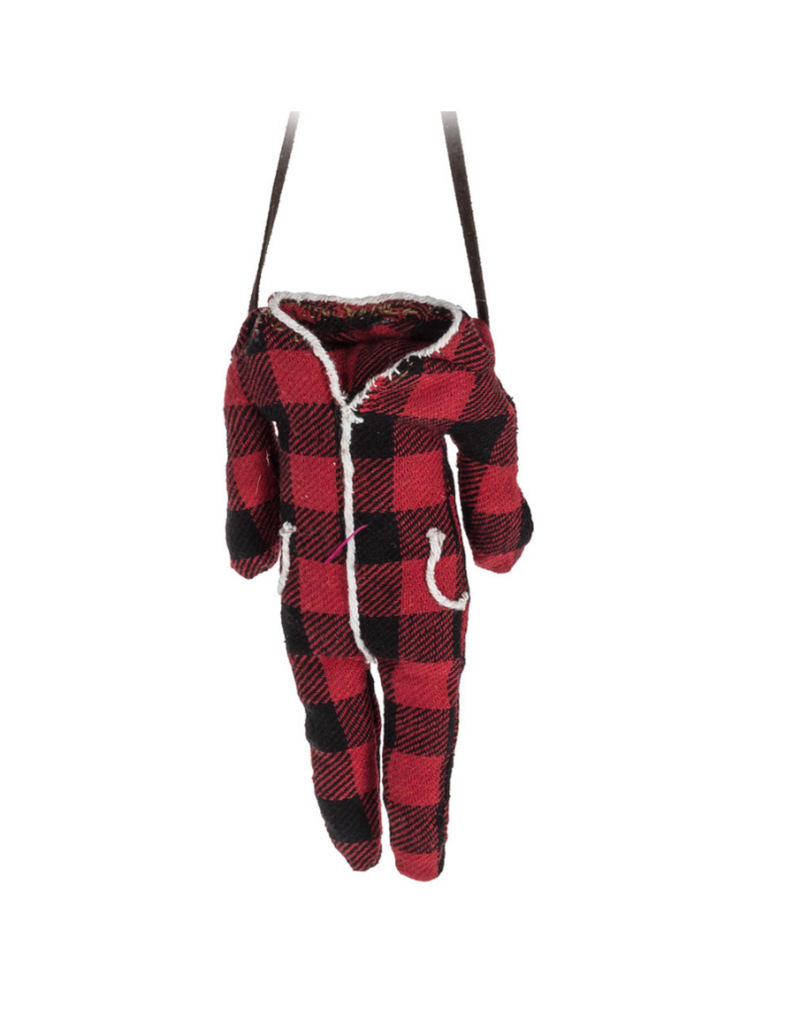 Abbott Ornement pyjama à carreaux