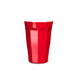 Abbott Verre à latte 'Avenue' - rouge