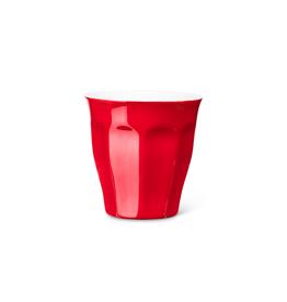 Abbott Verre à cappuccino 'Avenue' - rouge