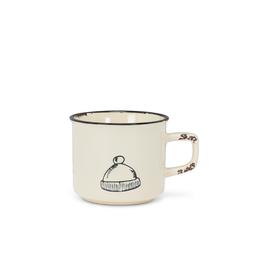 Abbott Tasse à cappuccino look émaillé - tuque