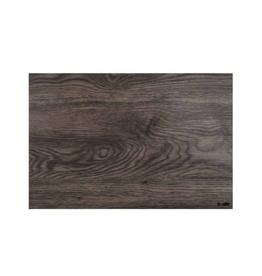 Napperon motif bois foncé