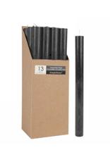 Chandelle 25cm noire