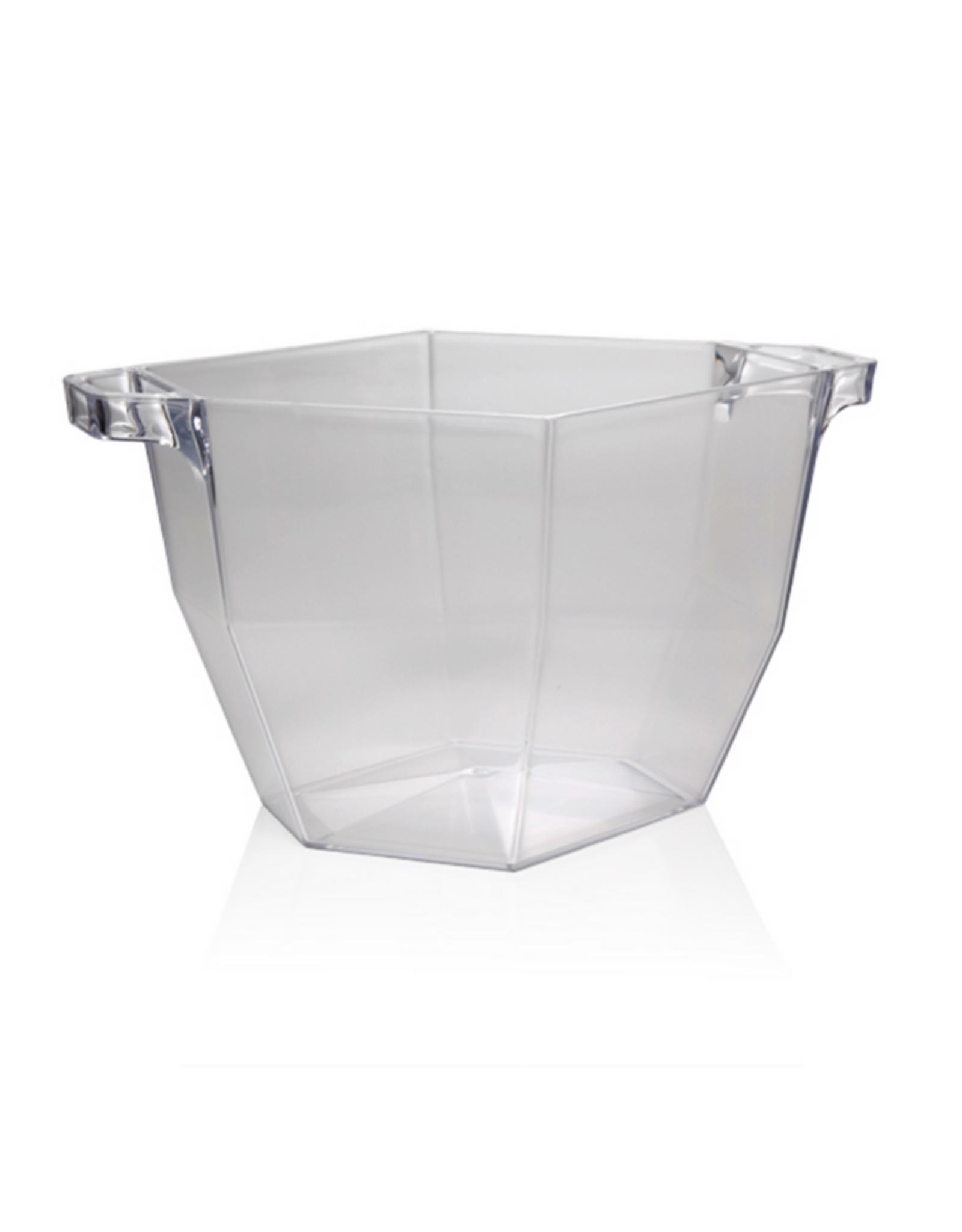 Bac en acrylique transparent 7L