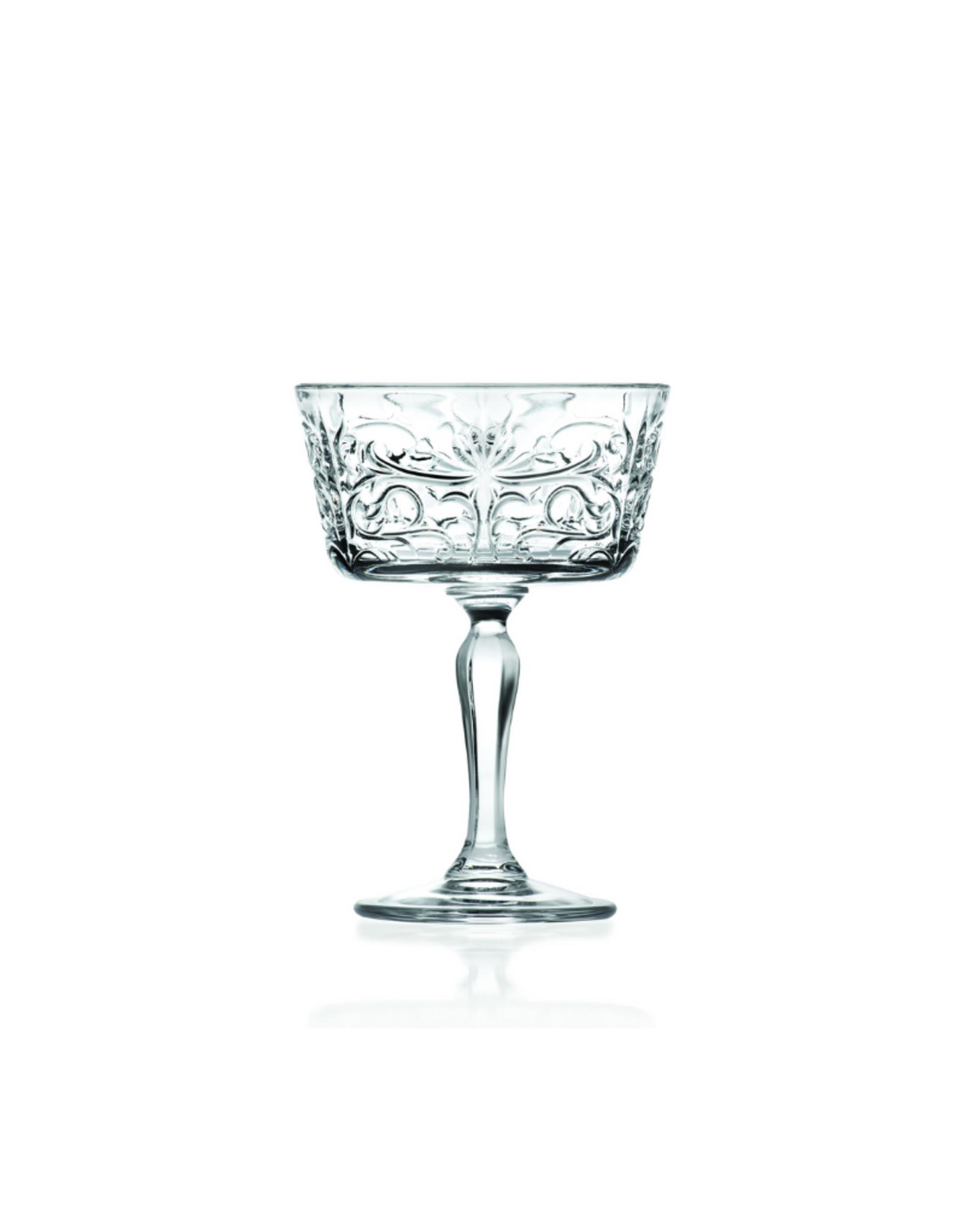 Ens. 6 verres à champagne 9oz Eco-Crystal