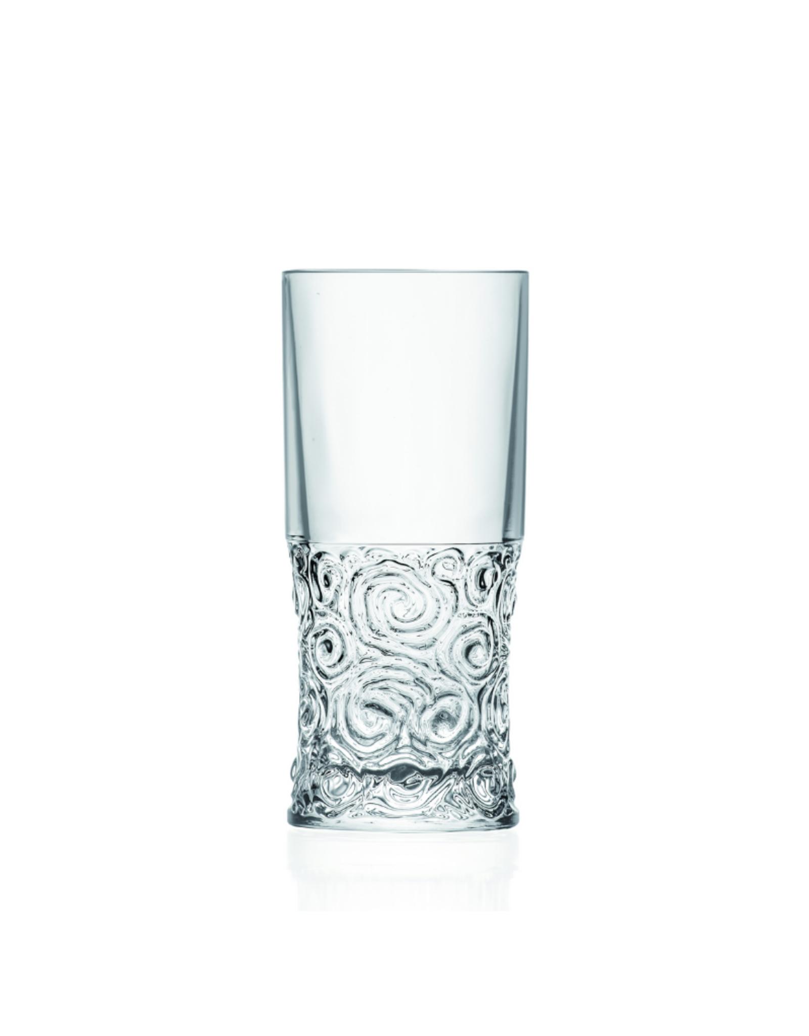 Ens. 6 verres hi-ball 12oz Eco Crystal
