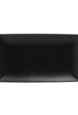 Maxwell Williams Assiette rectangle coupe 'Caviar'